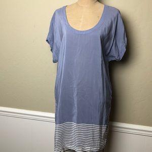 Vince silk shift dress